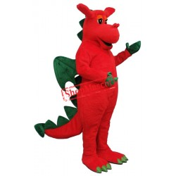 Winged Dragon Mascot Costume
