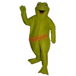 Sleepy Frog Mascot Costume