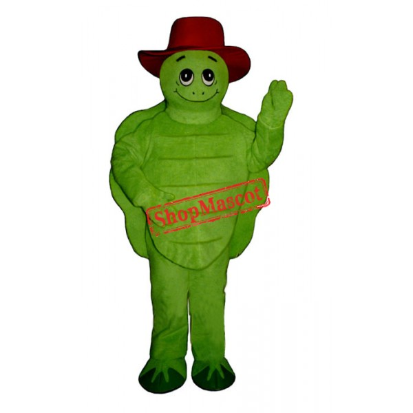 Tommy Turtle Hat Mascot Costume