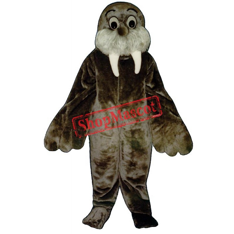 Wally Walrus Mascot Costume