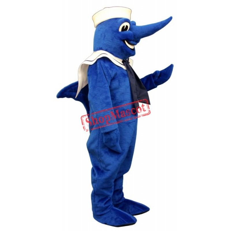 Swordfish Hat Collar Mascot Costume