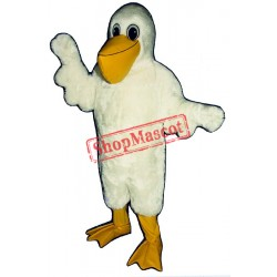 Cartoon Pelican Mascot Costume