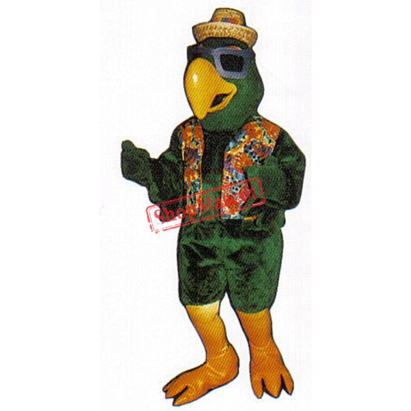 Party Parrot Mascot Costume