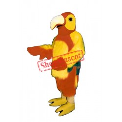 Red Parrot Mascot Costume