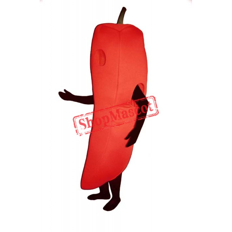 Chili Pepper Mascot Costume