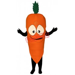 Bug Eyed Carrot Mascot Costume