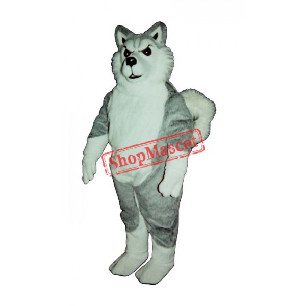 Willy Wolf Mascot Costume
