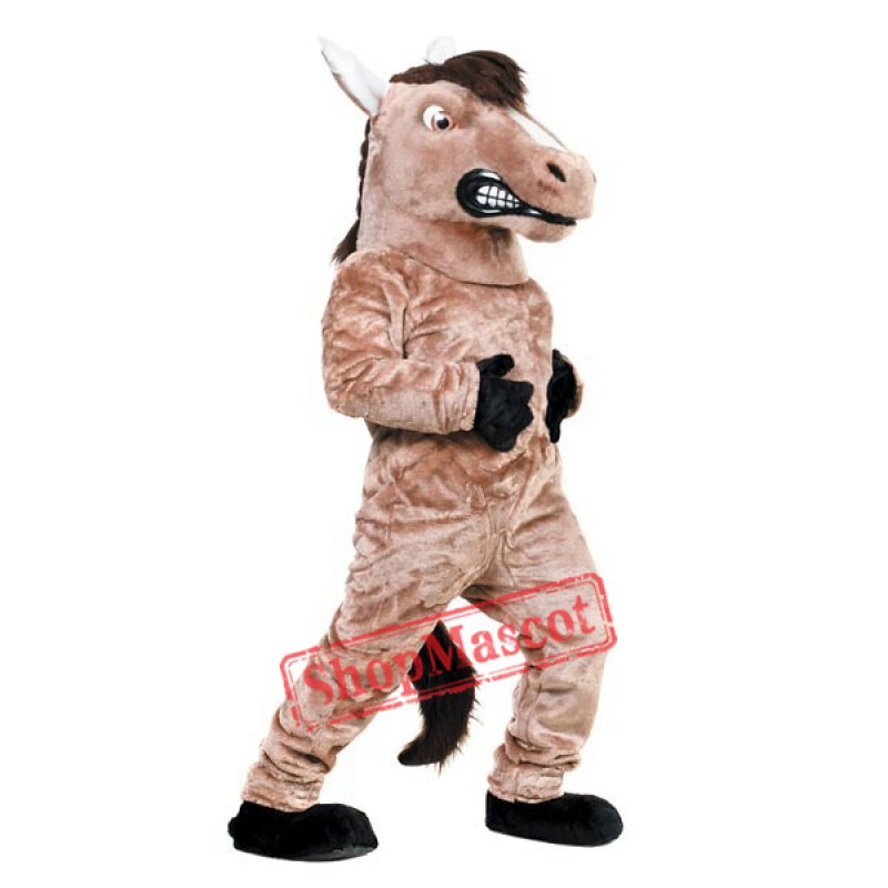 High Quality Mustang Mascot Costume