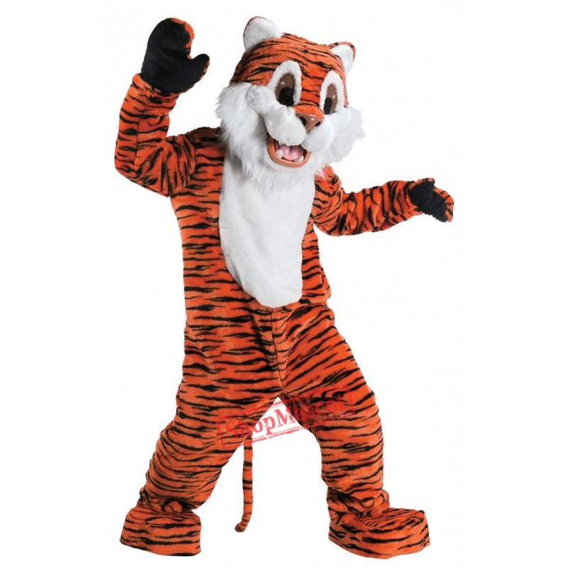 Tiger Plush Mascot Costume