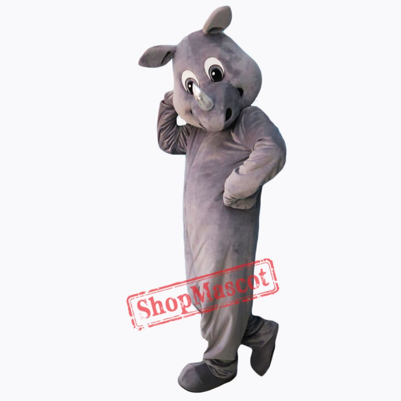 High Quality Realistic Rhinoceros Mascot Costume