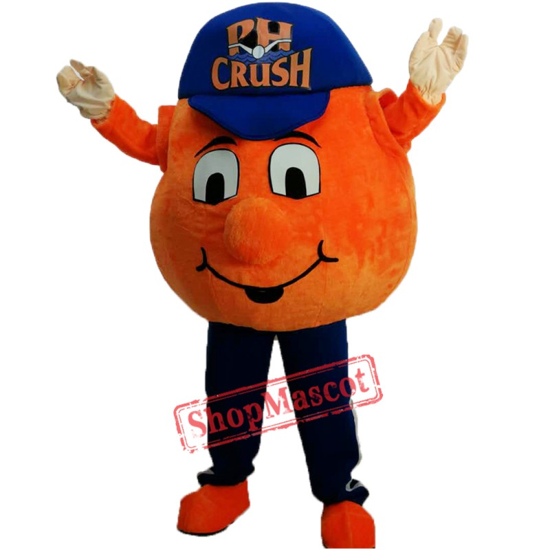 Orange Crush Wins Fantasy Baseball League Championship Mascot Costume