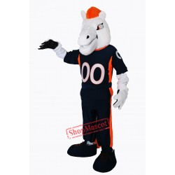 New Mustang Horse Broncos Mascot Costume