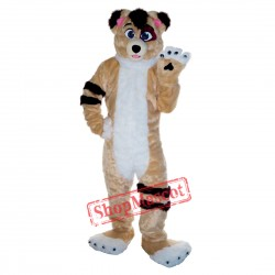 Friendly Dog Mascot Costume