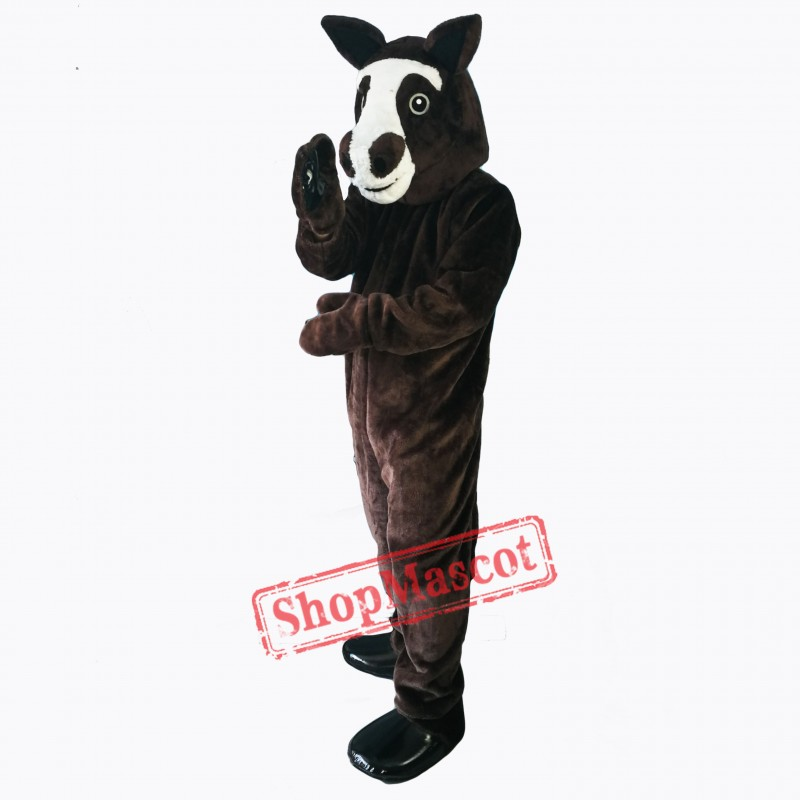 Lovely Horse Mascot Costume