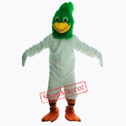 Green Roadrunner Mascot Costume