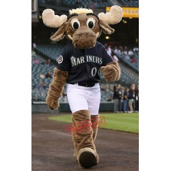 Sport Power Moose Mascot Costume