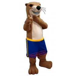 New Otter Mascot Costume