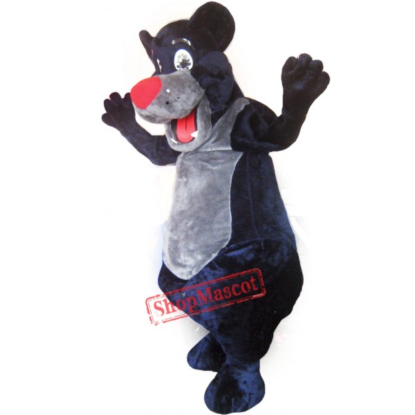 Black Bear Mascot Costume Adult Costume