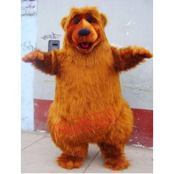 Brown Bear Mascot Costume Adult Costume