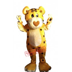Cheetah Mascot Costume Adult Costume