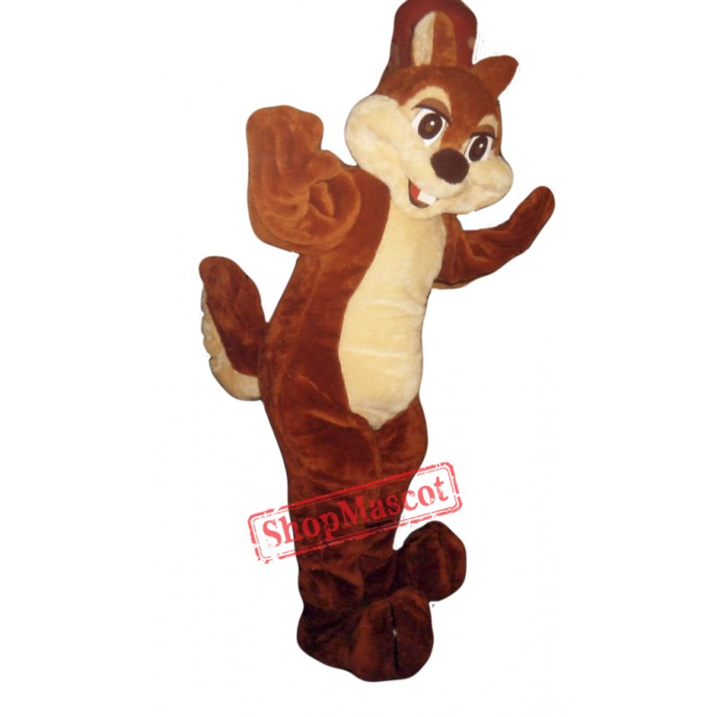 Chipmunk Mascot Costume Adult Costume