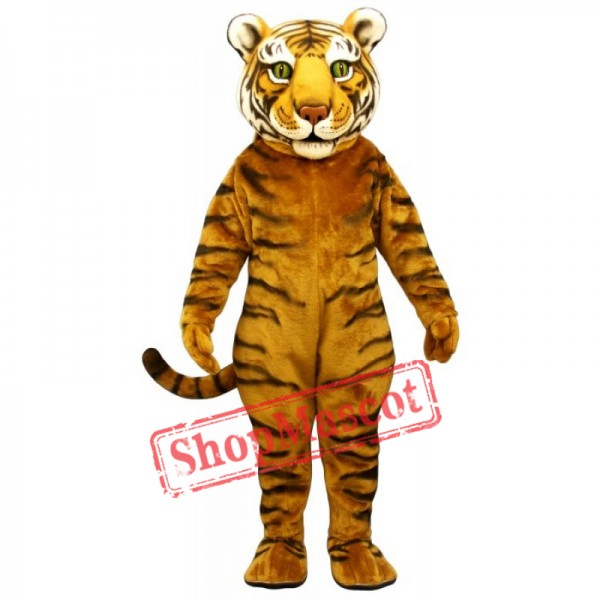 Tiger Ted Mascot Costume (Head Only)