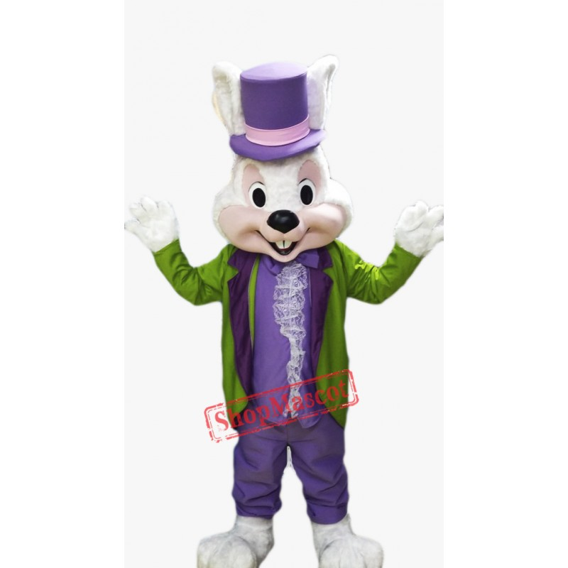 Easter Bunny Mascot Costume Adult Costume