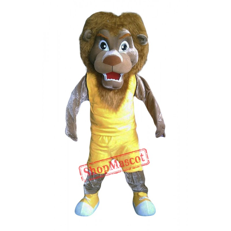 Lion Mascot Costume Adult Costume