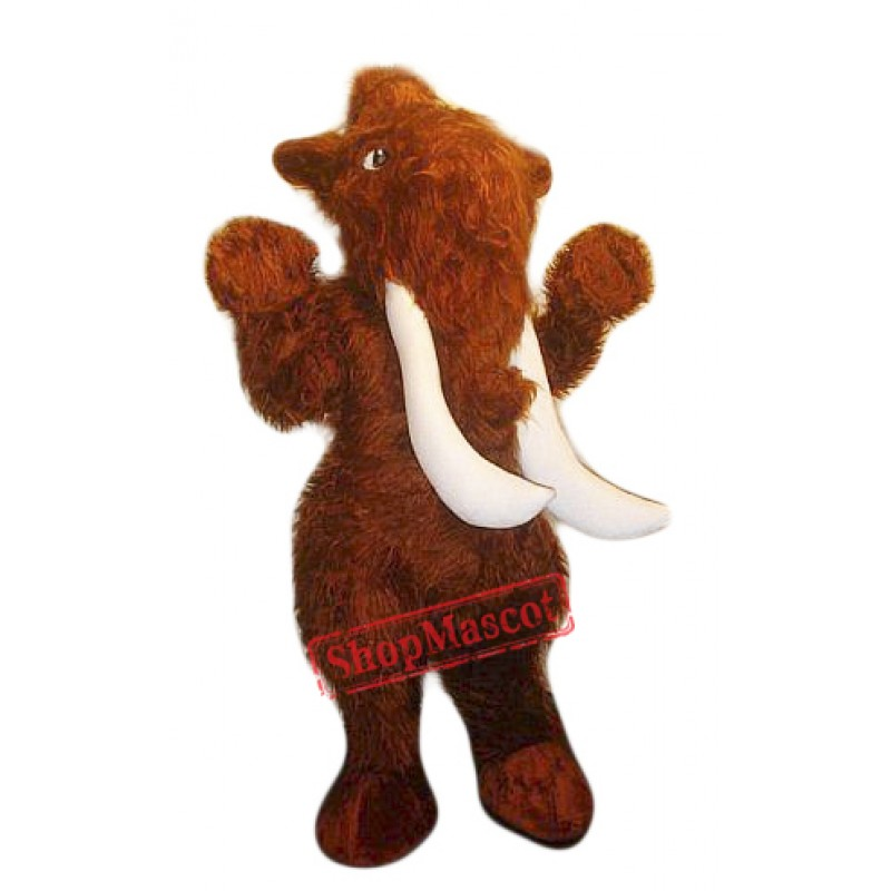 Mammuth Mascot Costume Adult Costume