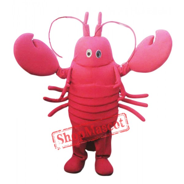 Crayfish Mascot Costume Lobster Adult Costume