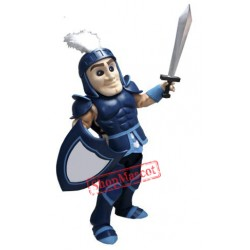 Blue Spartan Knights Mascot Costume Free Shipping