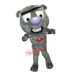 Cute Bulldog Mascot Costume