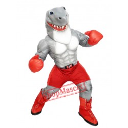 Power Shark Mascot Costume