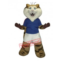 Cute Tiger Mascot Costume