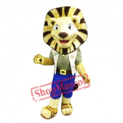 Folly Lion Mascot Costume