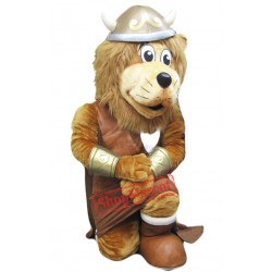 Viking Lion Mascot Costume