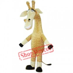 Animal Giraffe Mascot Costume