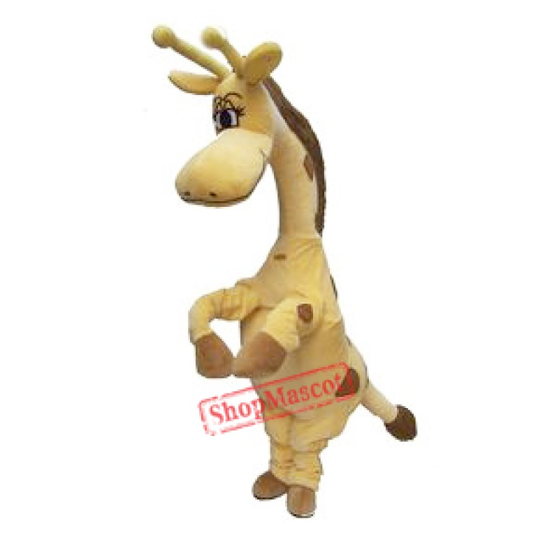 Cartoon Animal Giraffe Mascot Costume
