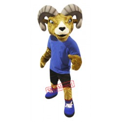 High Quality Adult Sport Ram Mascot Costume