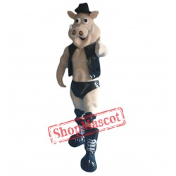 Power Muscle Boar Mascot Costume