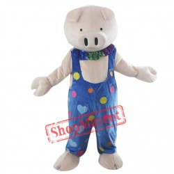 Cute Animal Pig Mascot Costume