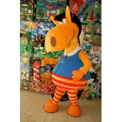Cute Animal Horse Mascot Costume