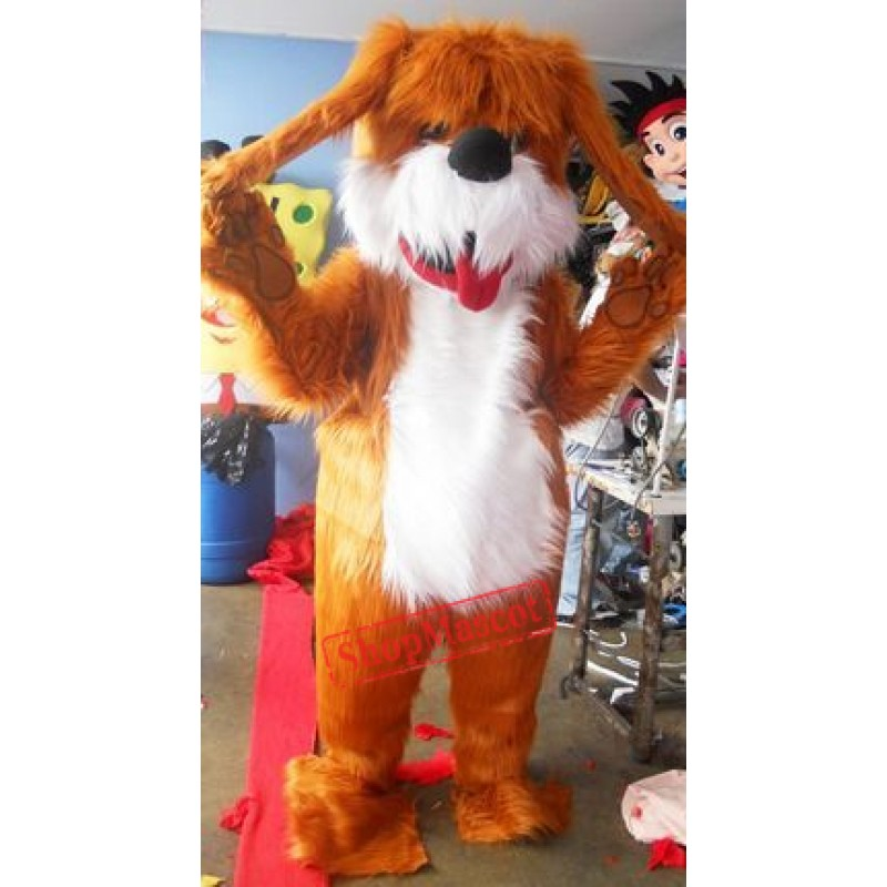 Shaggy Dog Mascot Costume