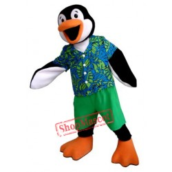 Summer Penguin Mascot Costume