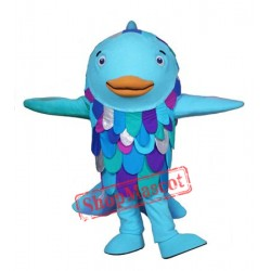 Rainbow Fish Mascot Costume