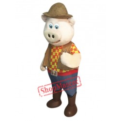High Quality Pig Mascot Costume