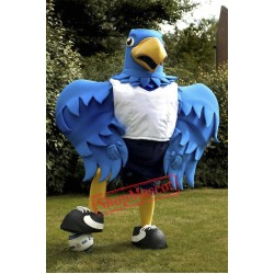 Big Blue Bird Mascot Costume