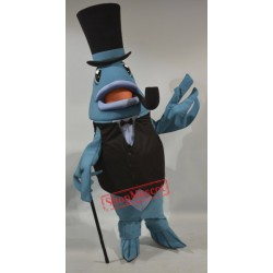 Boston Smoked Fish Mascot Costume