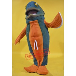 Brook Trout Fish Mascot Costume