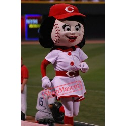 Rosie Red Female Mascot Costume